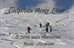 MONTE LISSER: Geführte Schneeschuh-Wanderung mit Führer Plateau, 3. Dezember 2019