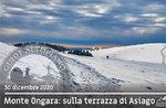 CIASPOLATA MONTE ONGARA UND FIARA, Winterlandschaften, 30. Dezember 2020