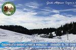 Manazzo Tür: Blick über die Grenze CIASPOLATA GUIDATA mit Plateau Guides