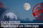 ALTOPIANO TO THE FIRST OF LUNA - Mount Longara Exkursion, 4. Juli 2020 SERA