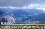 SPITZ VERLE, Blick von den Seen, Wanderung 26. Juli 2020