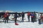 SPITZ LEVICO und starke Verle: geführte Schneeschuhwandern Plateau, 26. Februar 2017