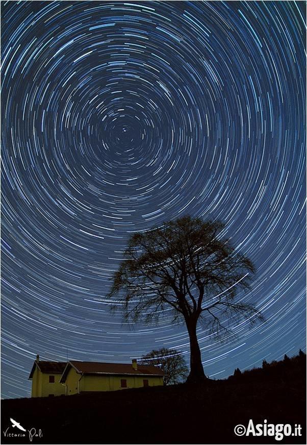 Magia del cielo escursione astronomica con guide altopiano for Asiago dove dormire