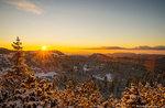 Winter-Sterne: geführte Schneeschuh-Wanderung mit Führer Plateau, 20 Januar 2018 Abend