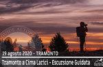 TRAMONTO VON CIMA LARICI, geführte Exkursion 19. August 2020 - POMERIGGIO-SERA