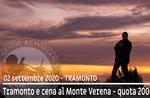 TRAMONTO OF FORTE VERENA, Wanderung auf 2000m Höhe, 2. September 2020