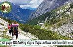 TREKKING & YOGA in den Dolomiten - San Marco Hütte - 27. und 28. Juni 2020