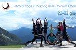 YOGA UND TREKKING RETREAT in den Dolomiten, 22. und 23. Juni 2019