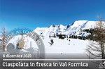 GEFÜHRTE SNOWSHOEING AUF DEN RIDGES VON VAL FORMICA, 8. Dezember 2020
