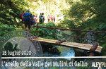 ANELLO VALLE MULINI GALLIO, geführte Exkursion, 15. Juli 2020