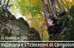 VALLERANA und Campolongo Gräben, geführte Exkursion, 1. NOVEMBER 2020
