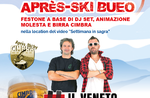 Apres SkiOchsmit THE VENETO IMBRUTTITO auf dem Berg Verena - 21. März 2020