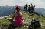 Wandern und YOGA: GUIDEALTOPIANO und CHANDRAYOGA, mit Monte Fior 16. Juli 2017