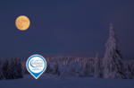 Ciaspolando al chiaro di luna e cena al Rifugio Bar Alpino - Sab 11 Gennaio 2020