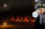 By candlelight with Asiago Guide and dinner at Malga Cimo - Saturday 25 January 2020