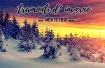 Monte Erio Schneeschuhwandern/Spaziergang-Winter Sonnenuntergänge-Samstag, 24. Februar