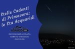 Stelle Cadenti di Primavera: le Eta Acquaridi-- Sabato 4 Maggio 2019