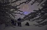 Flecken des Lichts: Wanderung auf Schnee-Samstag 3. Februar 2018
