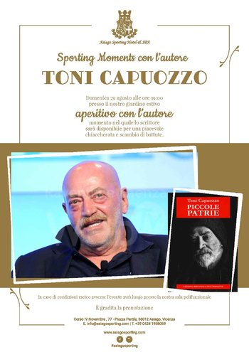Incontro con l'autore Toni Capuozzo all'Asiago Sporting Hotel