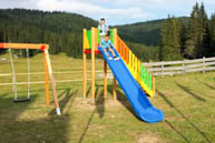 Playground Slide Chalet At Campomulo