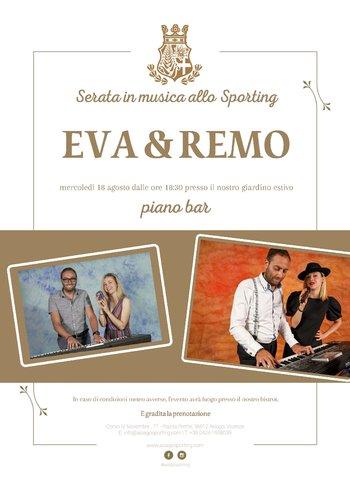 Eva e Remo allo Sporting di Asiago