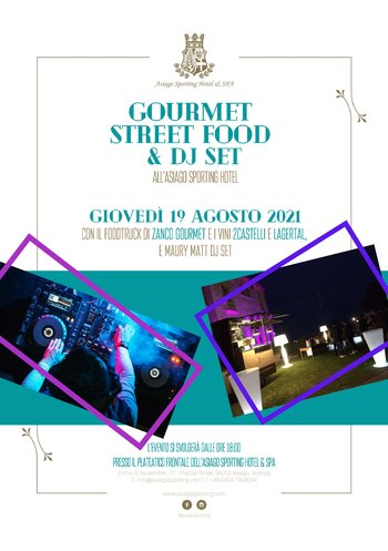 Gourmet street food & Dj Set Sporting Asiago