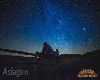 Guardare le stelle a Malga Mazze Inferiori Altopiano di Asiago