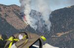 Feuer auf Portule. Verordnung über die Beleuchtung von Bränden in Asiago zu verbieten.