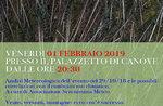 Sitzung am 29. Oktober 2018 und Klimakatastrophe in Canove-1 Februar 2019