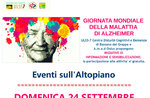 Welttag der Alzheimer-Krankheit-Informations- und Sensibilisierungsmaßnahmen auf Asiago Hochebene-24. September 2017