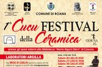 1° CUCU FESTIVAL della CERAMICA, Cesuna di Roana, luglio-agosto 2016