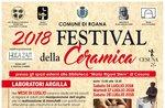 FESTIVAL DELLA CERAMICA a Cesuna di Roana - Luglio-agosto 2018