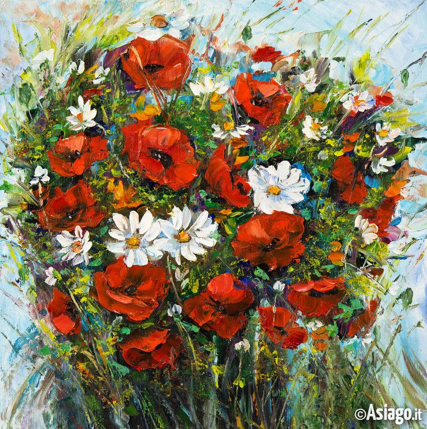 Fiori in pittura fh99 regardsdefemmes for Dipinti ad olio fiori