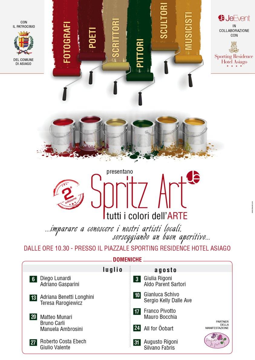 Spritz art tutti i colori dell 39 arte ad asiago dal 6 luglio for B b ad asiago