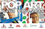 Anzeigen von POP ART Italien 1964-2014, Asiago Gefängnissen Museum, 12 Juli-31 August