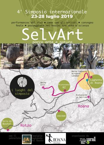4° Simposio SelvArt - Simposio di arte naturale sull'Altopiano di Asiago - Dal 23 al 28 luglio 2019