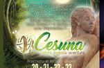 """Hölzerne Skulptur Symposium für die Kreation des Parks """"Cesuna: Natur, Legende, Abenteuer""""-20-23. Juli 2017"""