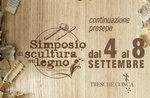 4. Holzskulpturen-Symposium in Trescha Conca - 4.-8. September 2019