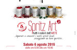 SPRITZ Kunstausstellung von all den Künstlern gonna Asiago, 6. August 2016
