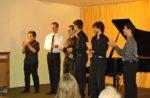& Musik-Final-Konzert der besten Talente der Piano Master Class