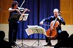 Kultur & Musik-Konzert für Violine und Violoncello