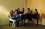 Kultur & Musik-Studenten Karte 1 ° musikalisch Campus