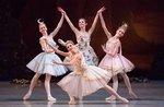 Russische Ballett in Asiago mit den Solisten der Waganowa-Akademie in St. Petersburg-15. Februar 2018.