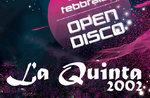 Am Wochenende offene Scheibe im Ristorante Pizzeria La Quinta 2002-10 und 11. Februar 2017