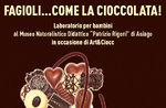 """Bohnen wie Schokolade! """"-Kinder Workshop im Naturhistorischen Museum von Asiago-17 Februar 2018"""