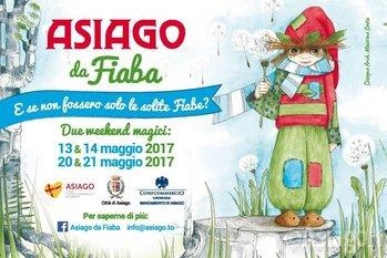 ASIAGO DA FIABA, weekend dedicato ai bambini e al mondo delle favole, 13-14 e 20-21 maggio 2017