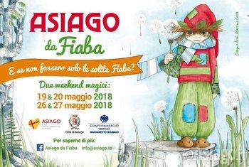 ASIAGO DA FIABA 2018 - Weekend magici dedicati ai bambini e al mondo delle favole - 19-20 e 26-27 maggio 2018