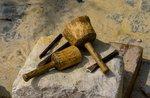 """Labor """"alten Handwerk der Steinmetz"""" durch das Museo Naturalistico di Asiago-12 August 2018"""