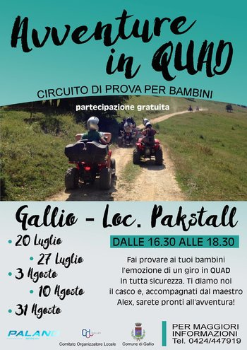 Avventure in quad a Gallio