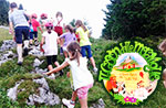 Kinder entdecken zu Fuß Cason 19/07-Wonderland Treschè Laver